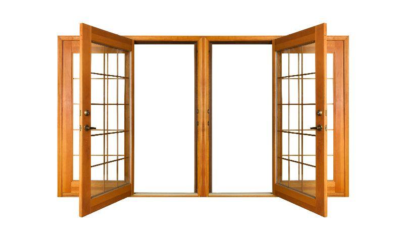 Fenster und Türen, die zu der äußeren Erscheinung unserer Häuser passen